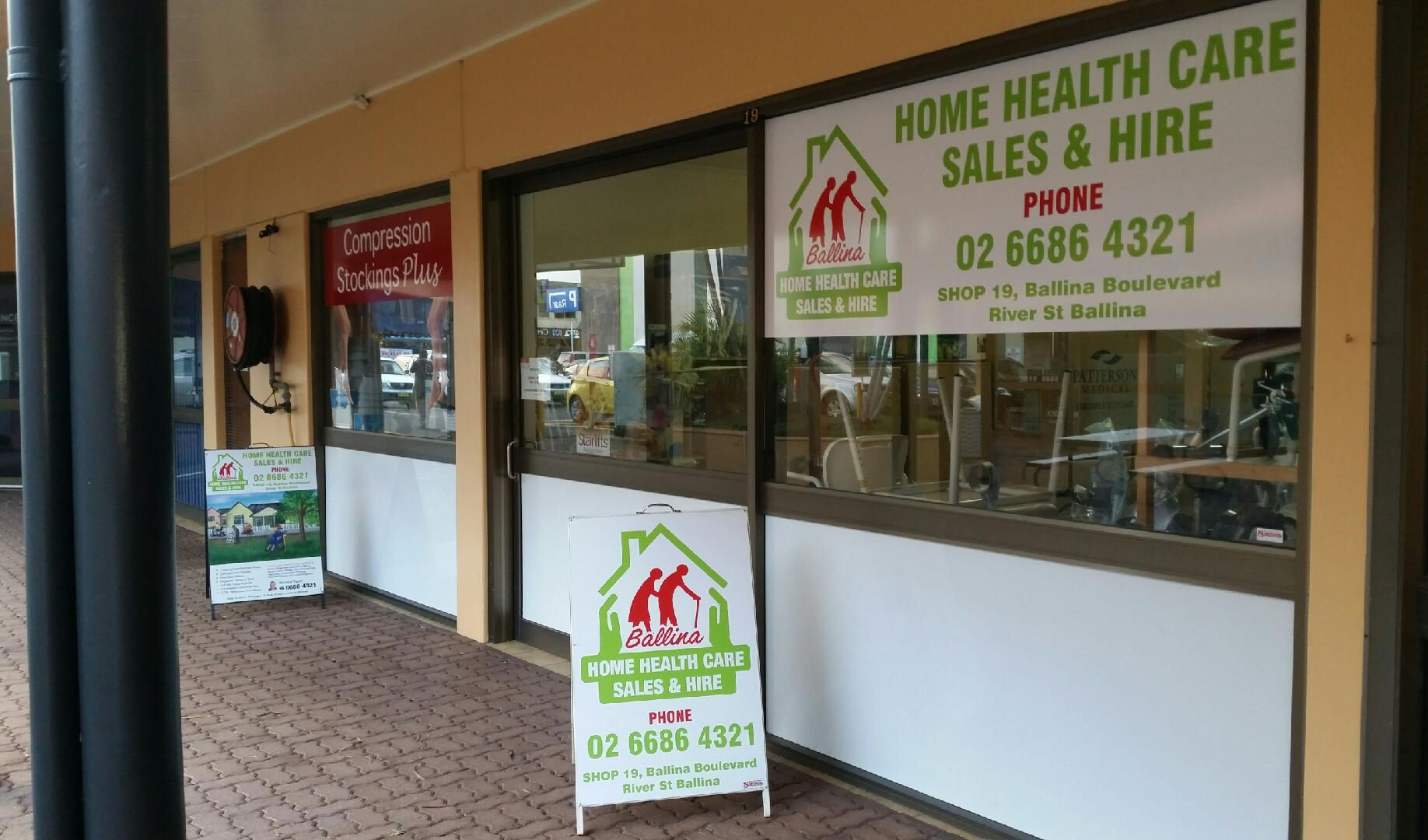 Ballina Home Healthcare Sales and Hire